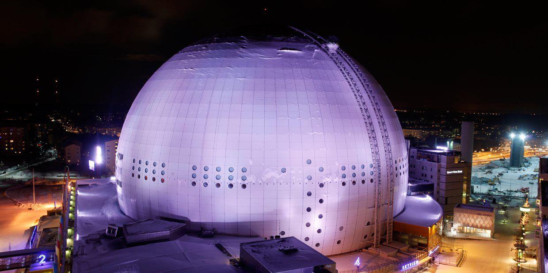 The Ericsson Globe in Stockholm