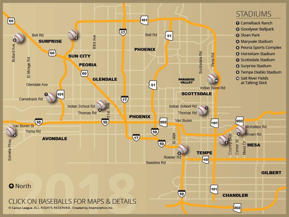 Stadiums in arizona
