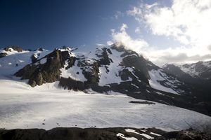 Mount Olympus and Blue Glacier, Olympic National Park, UNESCO World Heritage Site