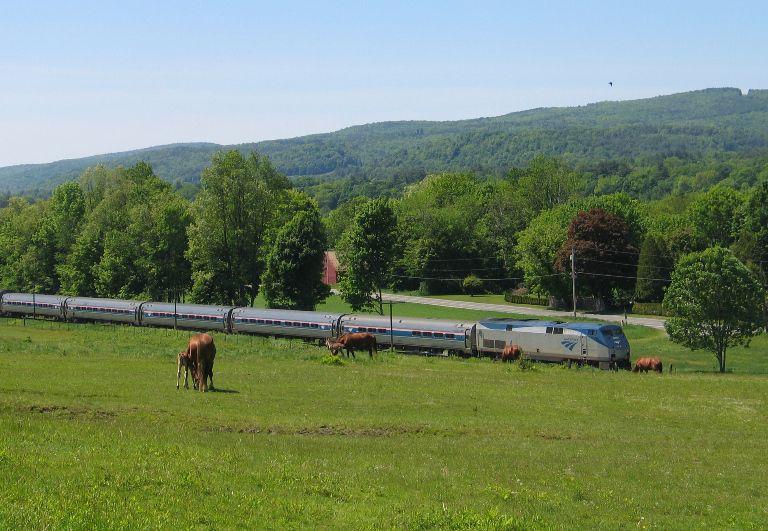 Vermonter Route: St. Albans – Burlington – Springfield – New York – Washington, D.C.