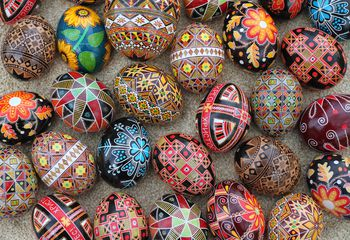 Easter in serbia traditions and rituals ukrainian easter eggs m4hsunfo