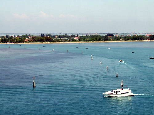 Crucero por los canales de Venecia, Italia