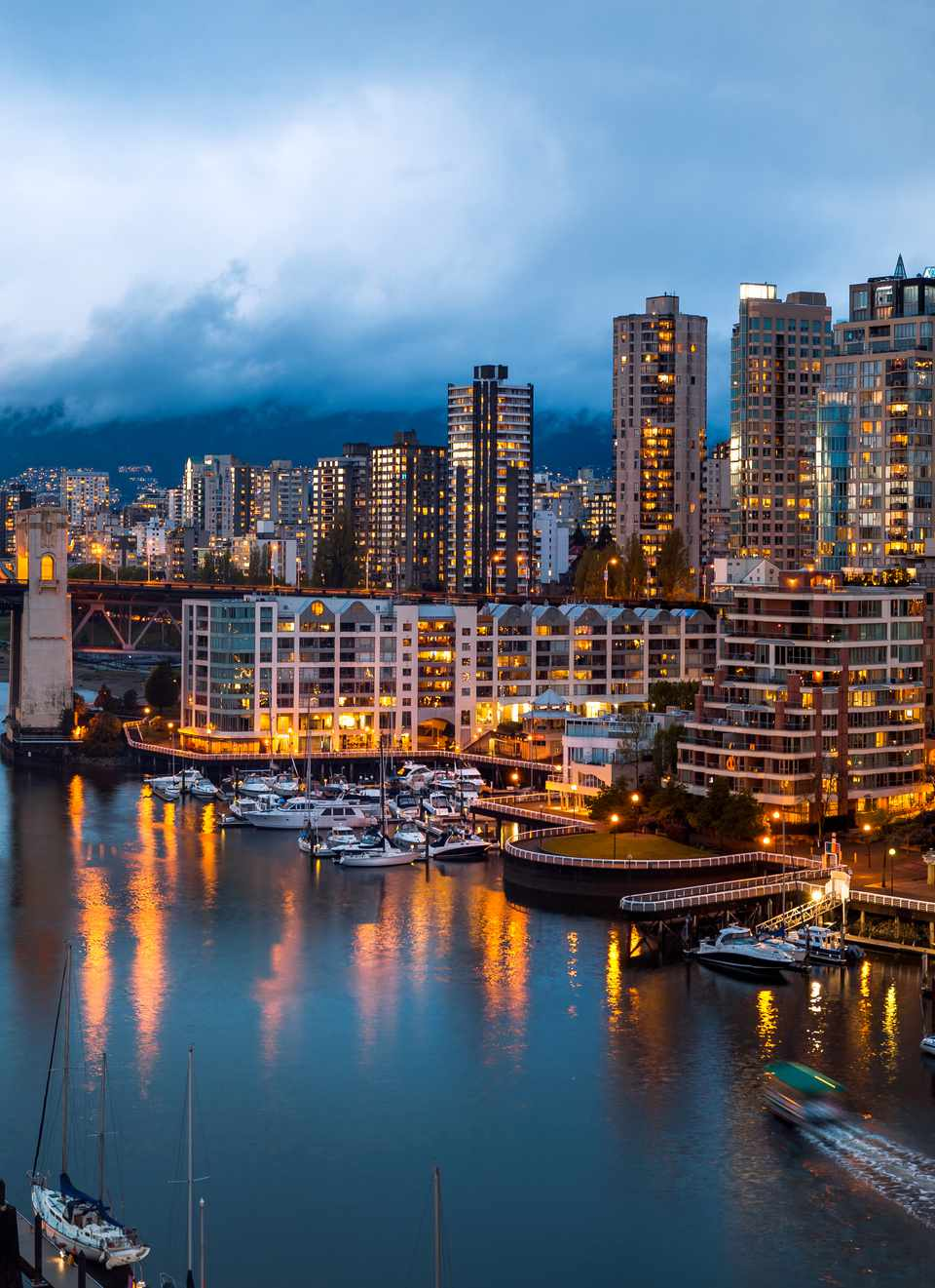 Burrard Bridge, Vancouver, British Columbia, Canada
