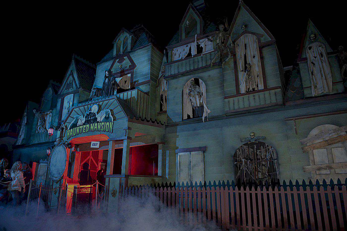 The Haunted Mansion at Fright Nights at the PNE