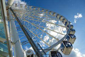 Ferris Wheel in Seattle downtown