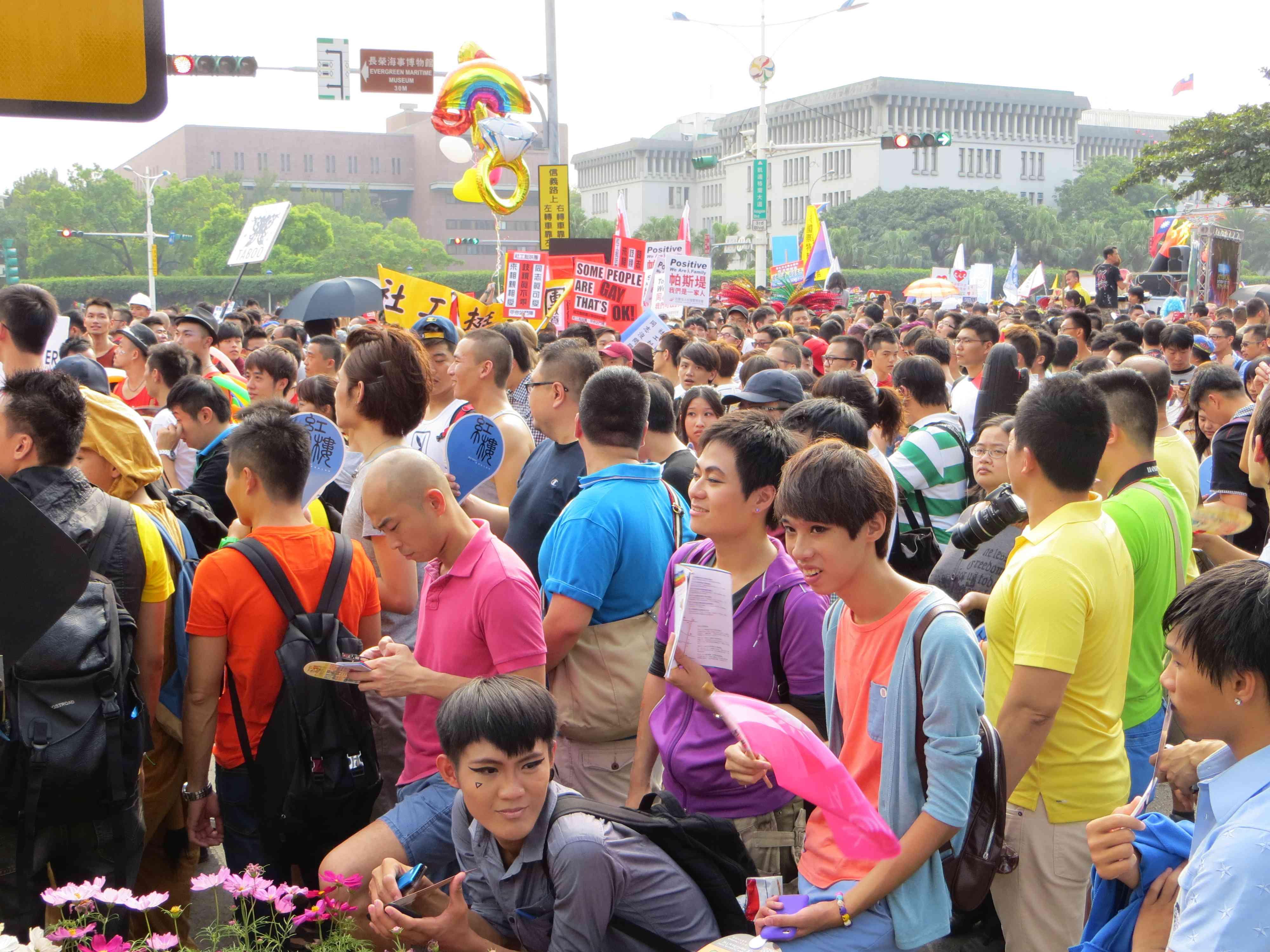 Taiwan Pride in Taipei