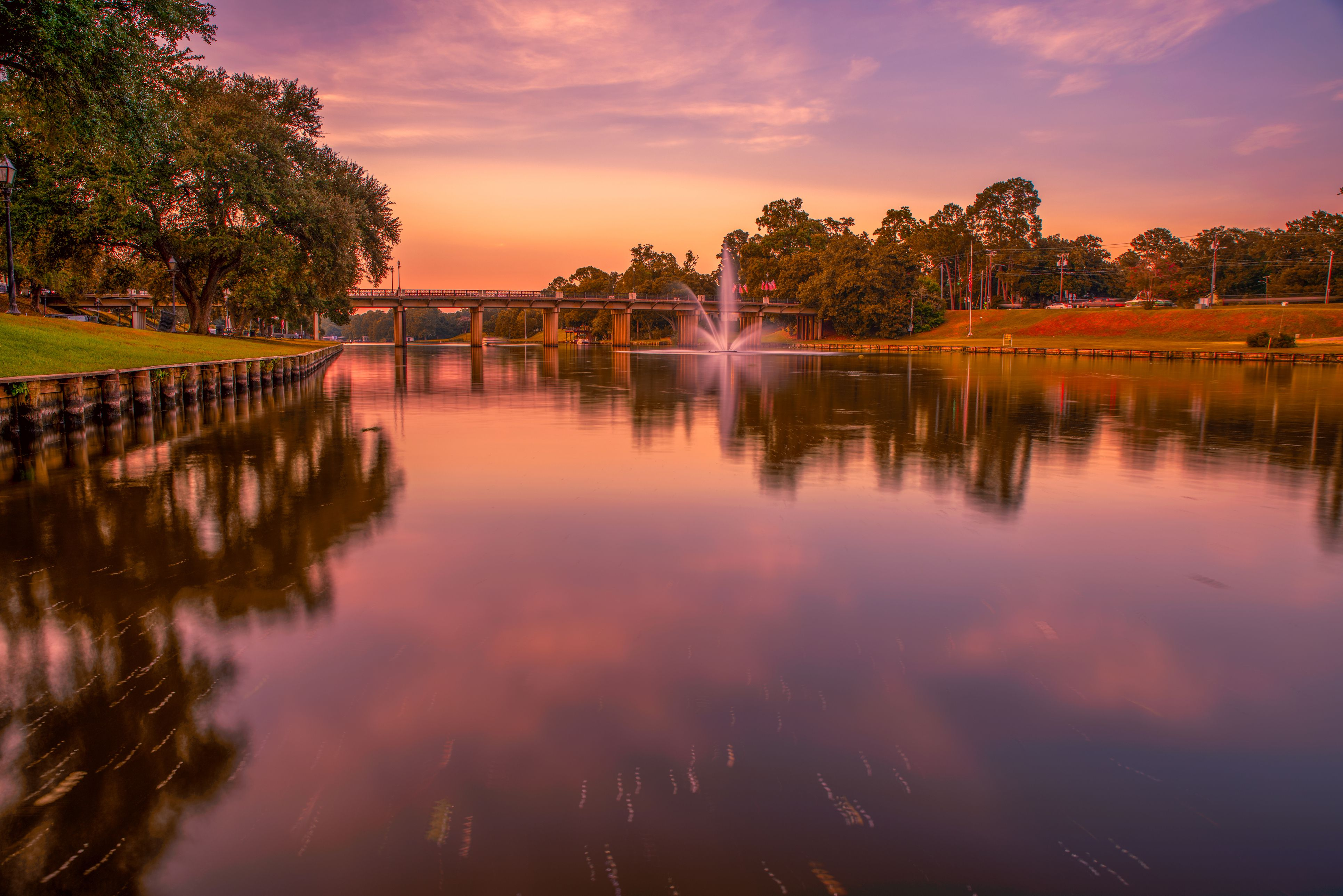 The Cane River at Natchitoches