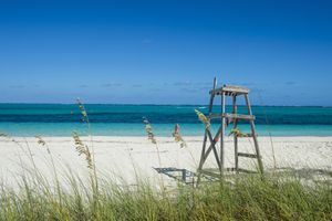 World famous Grace Bay beach, Providenciales, Turks and Caicos, Caribbean, Central America