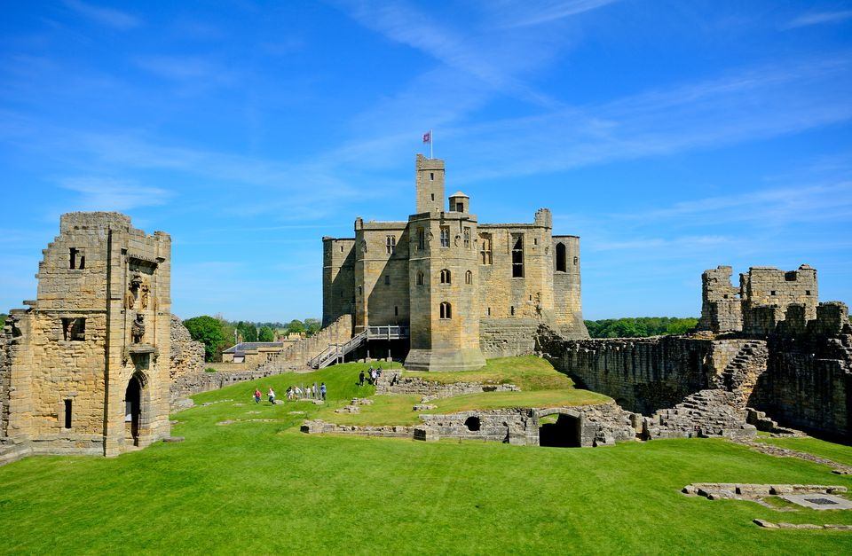 Castle, Warkworth, England