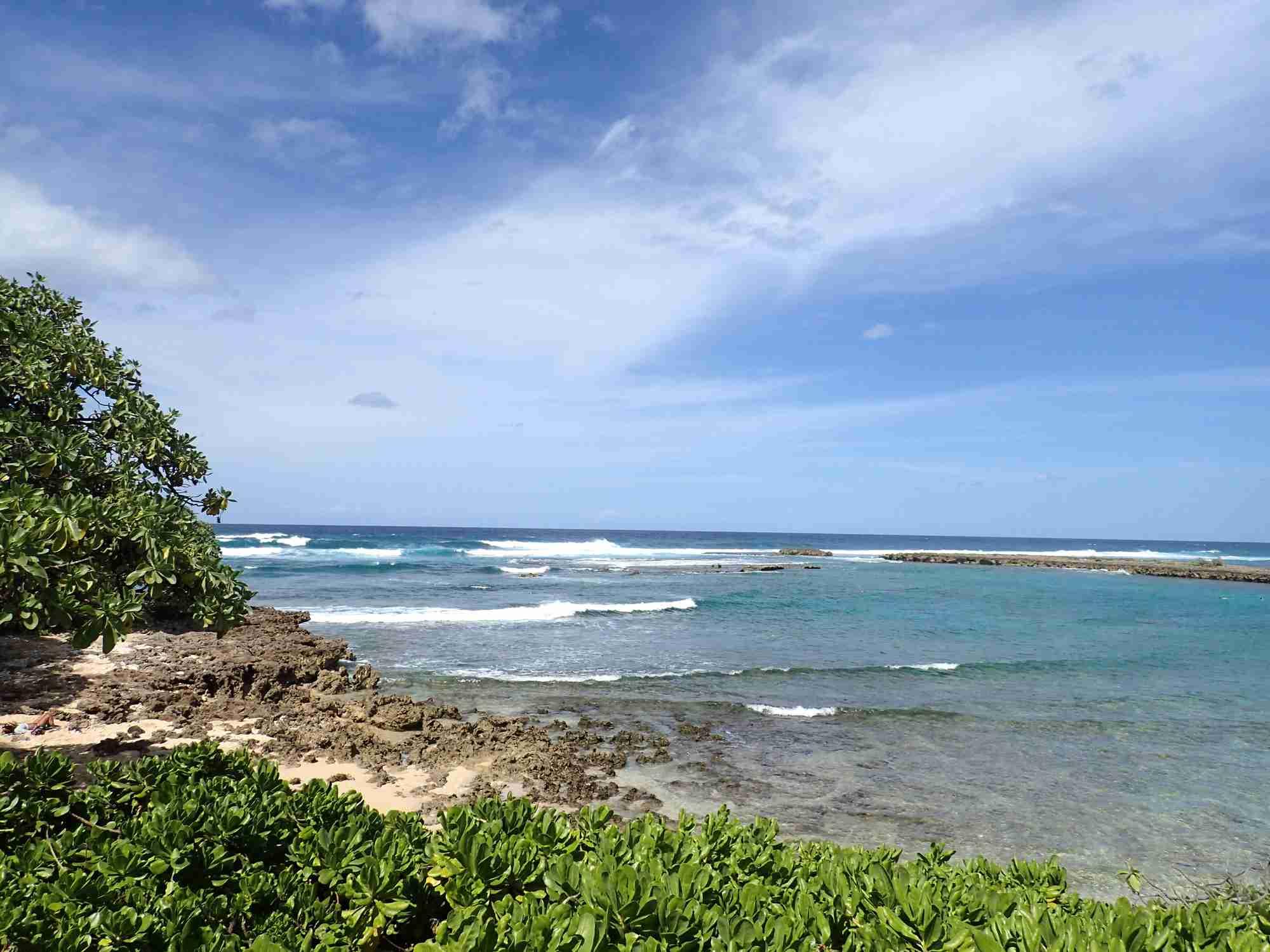 Kuilima Cove Beach at Turtle Bay, Oahu Island North Shore,