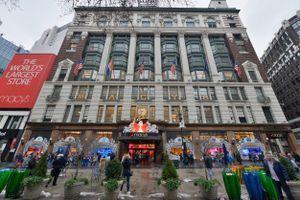 USA, Manhattan, New York City, December, 2016: Macy's inc, Herald Square