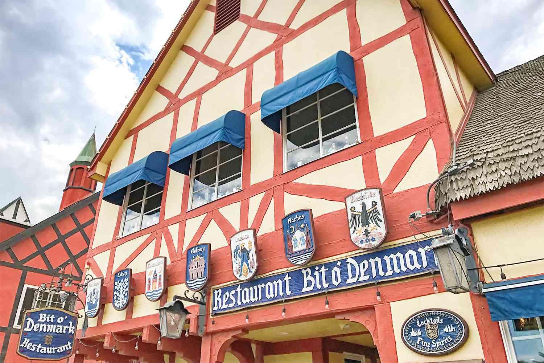 Bit o'Denmark Restaurant, Solvang CA