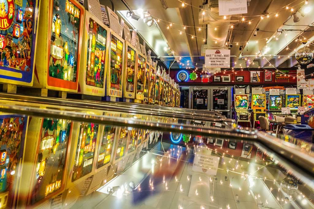 Silverball Pinball Arcade Museum