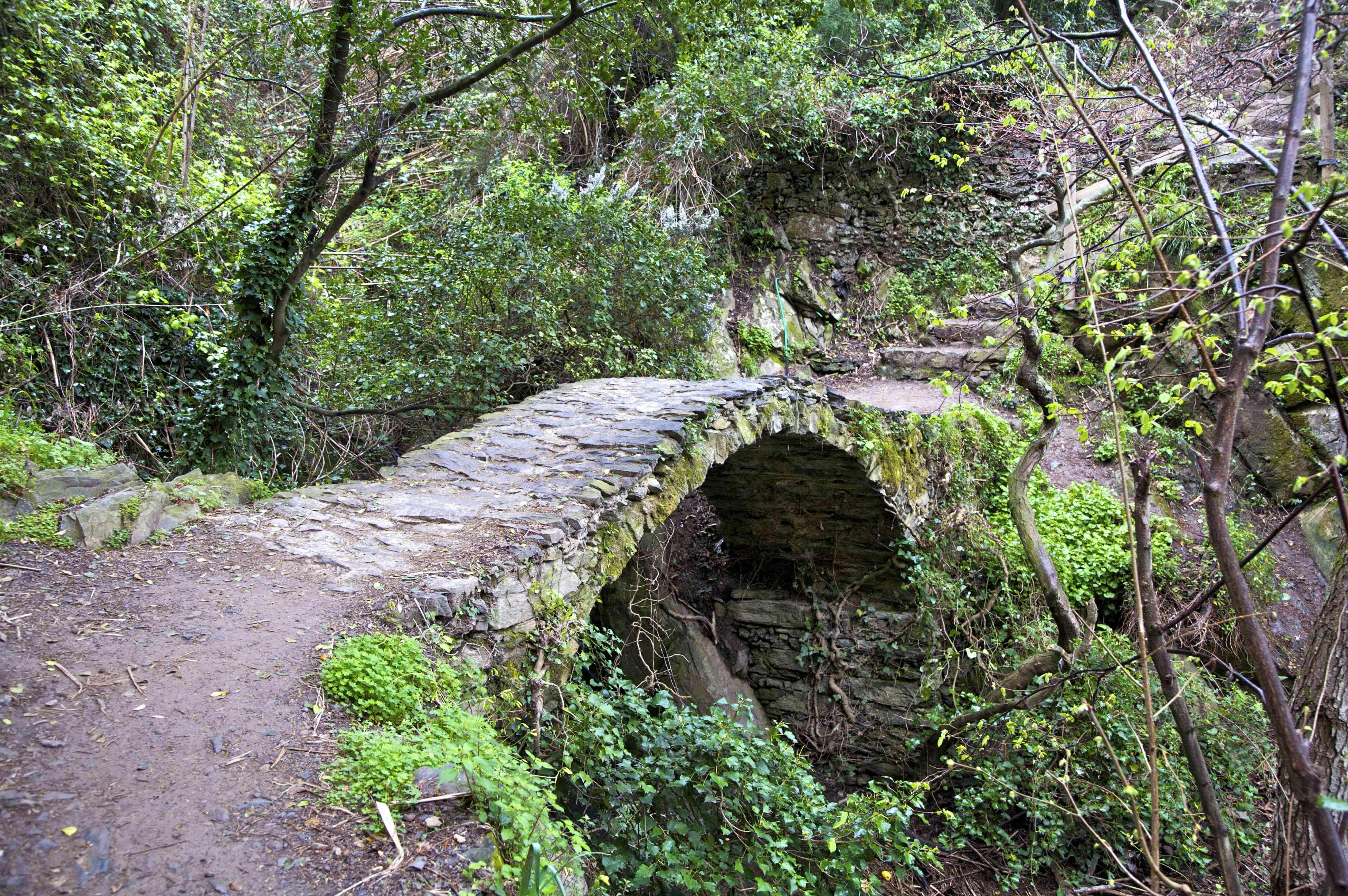Bridge on the Sentiero Azzurro, near Monterosso