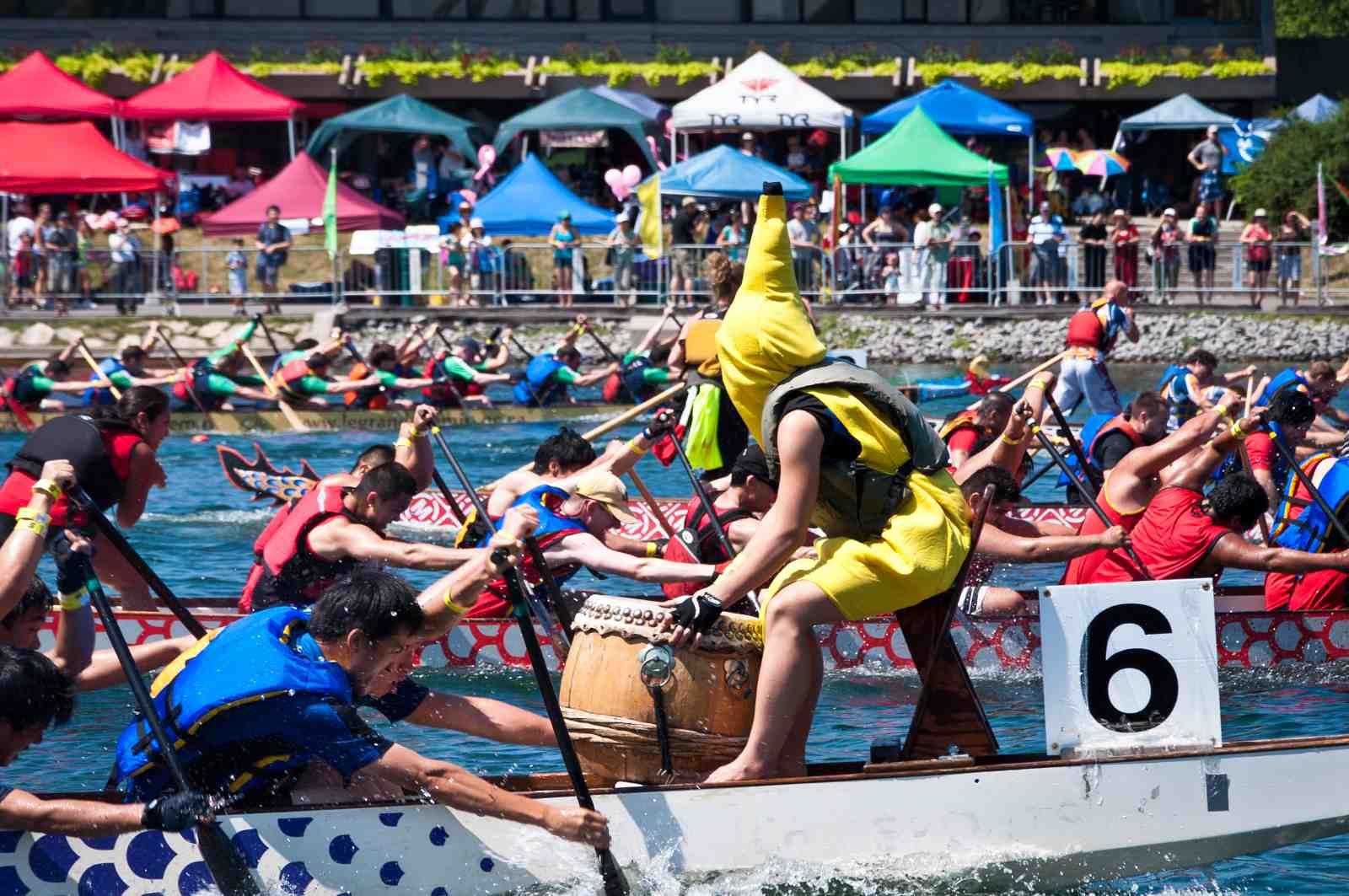 Quebec Cup dragon boat racing