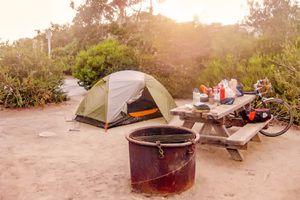 Hiker/Biker Campsite at Doheny State Beach