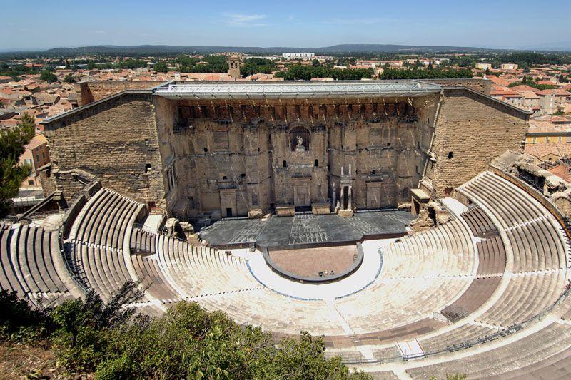 The Amphitheatre at Orange, Provence