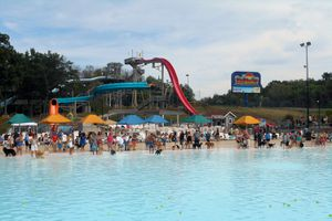 The Beach water park Ohio