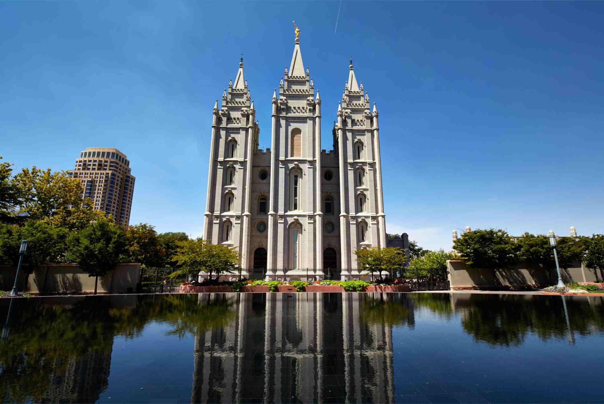 Templo de Salt Lake, Salt Lake City