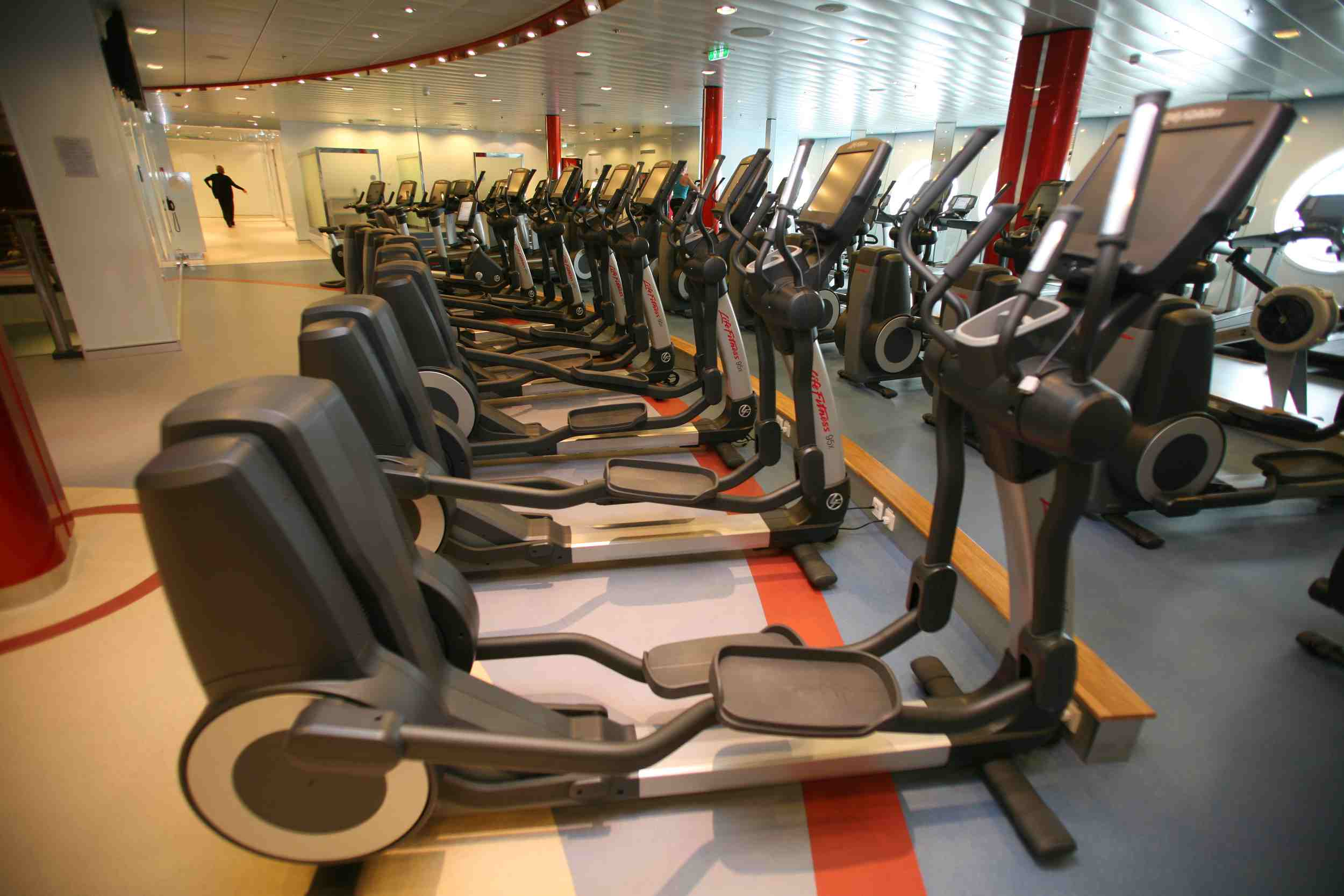 Allure of the Seas Fitness Center