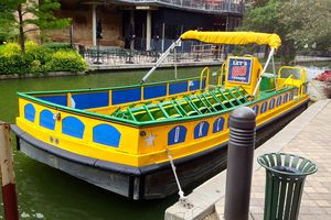 Oklahoma City Canal Boat on the canal.