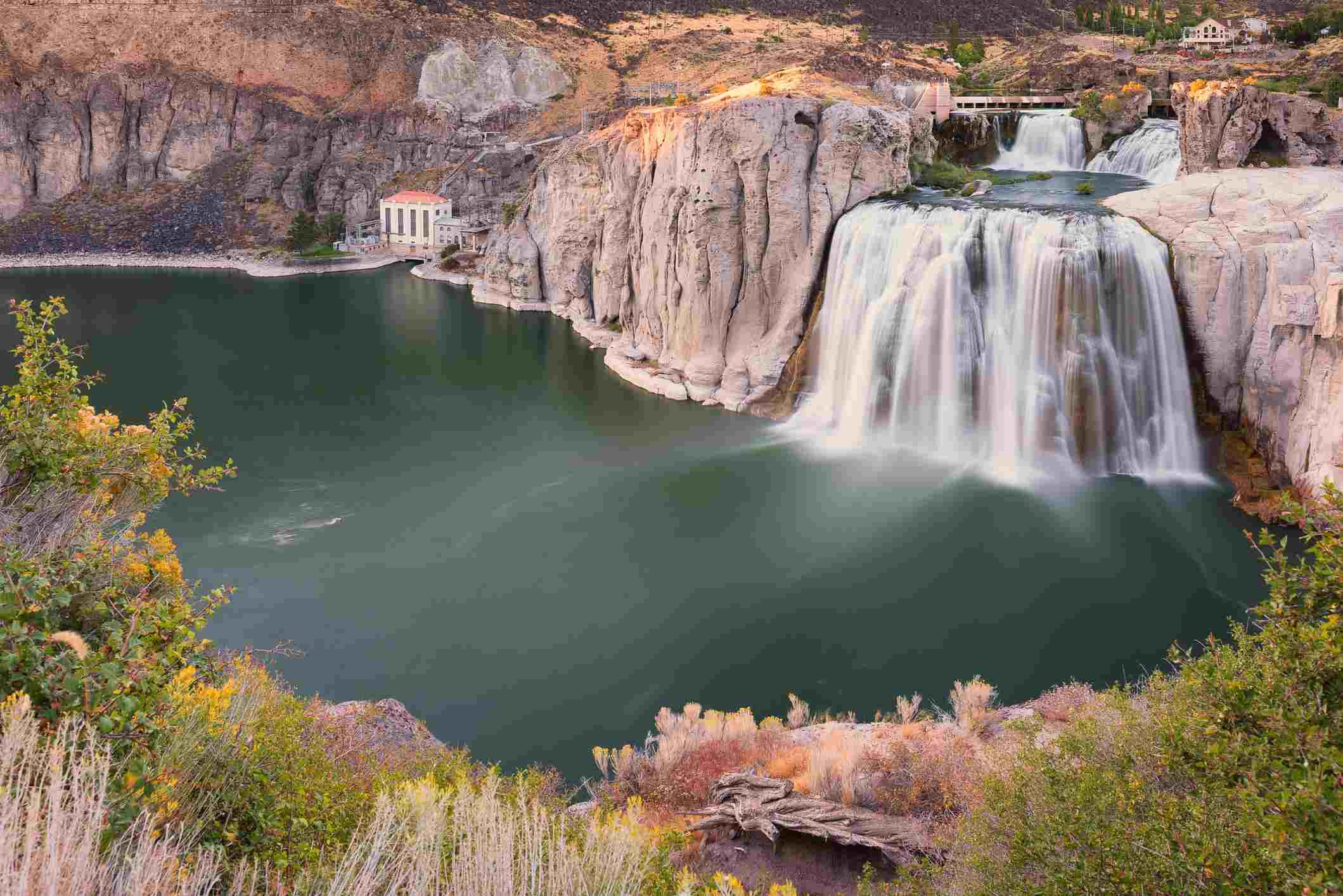 Bridal Veil Falls, Idaho, USA