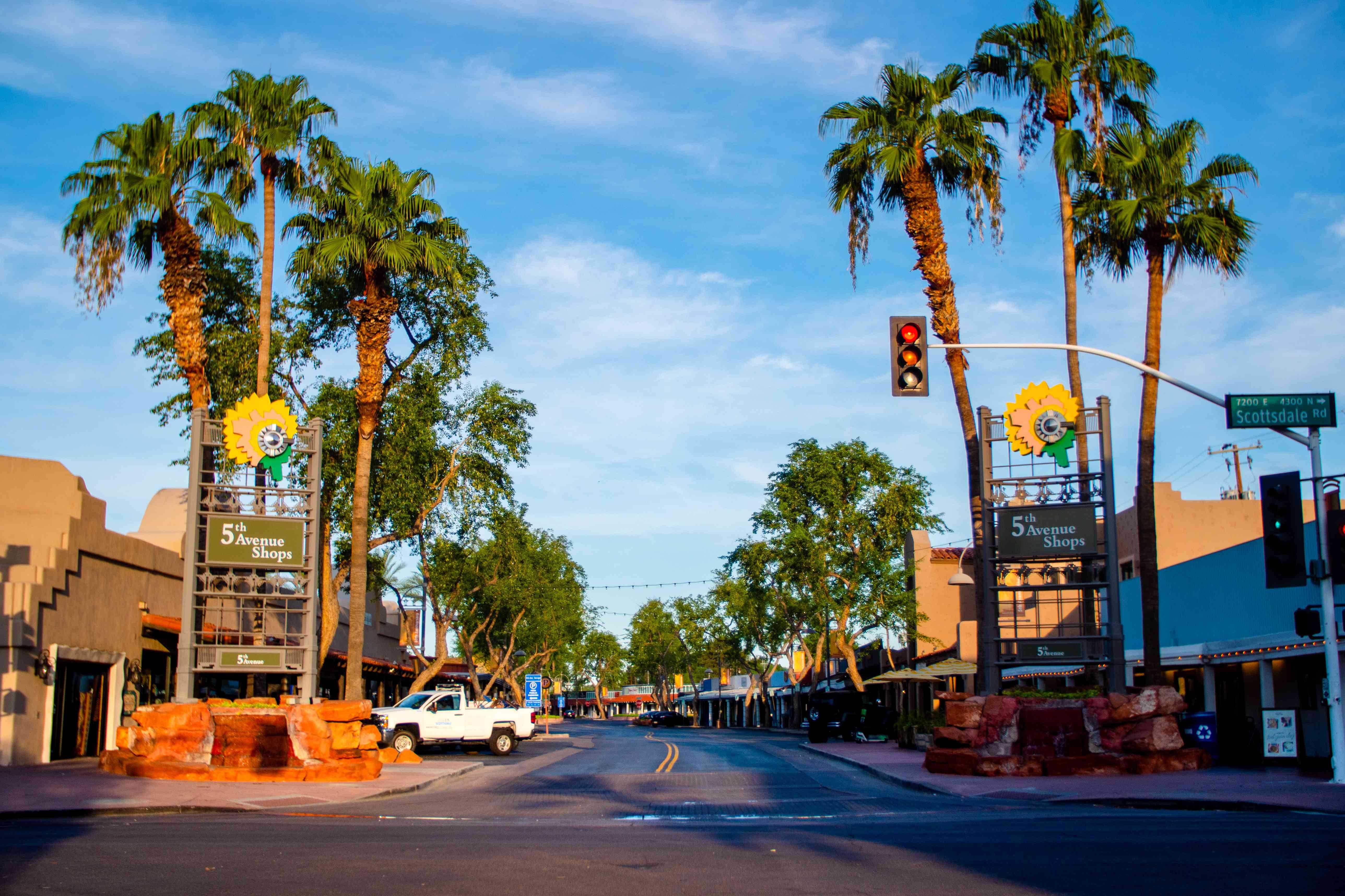 Scottsdale ArtWalk in Scottsdale, Arizona