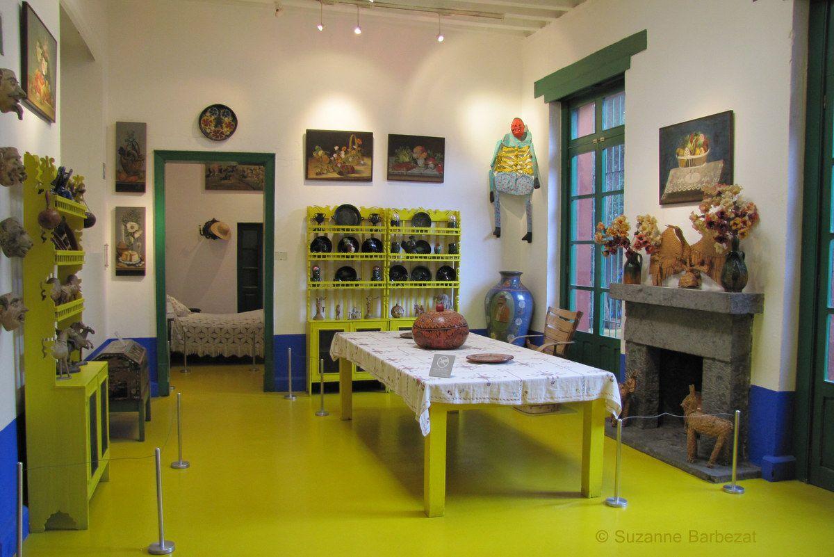 Frida Kahlo's Dining Room
