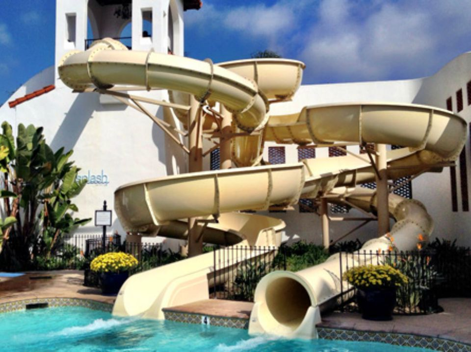 cool swimming pools with slides.  With Waterslides At Omni La Costa Resort Throughout Cool Swimming Pools With Slides M