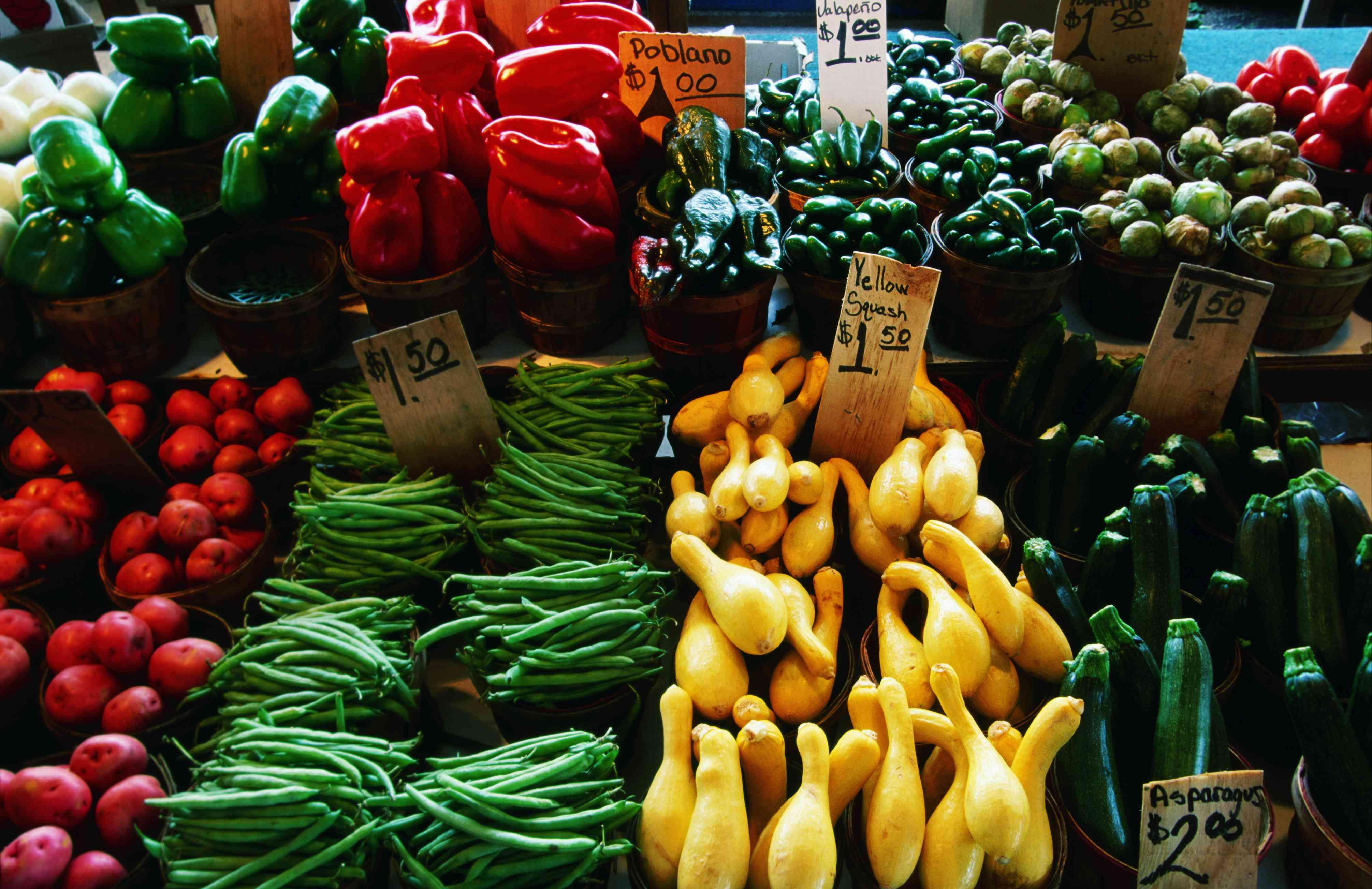 Produce, Dallas Farmers Market.