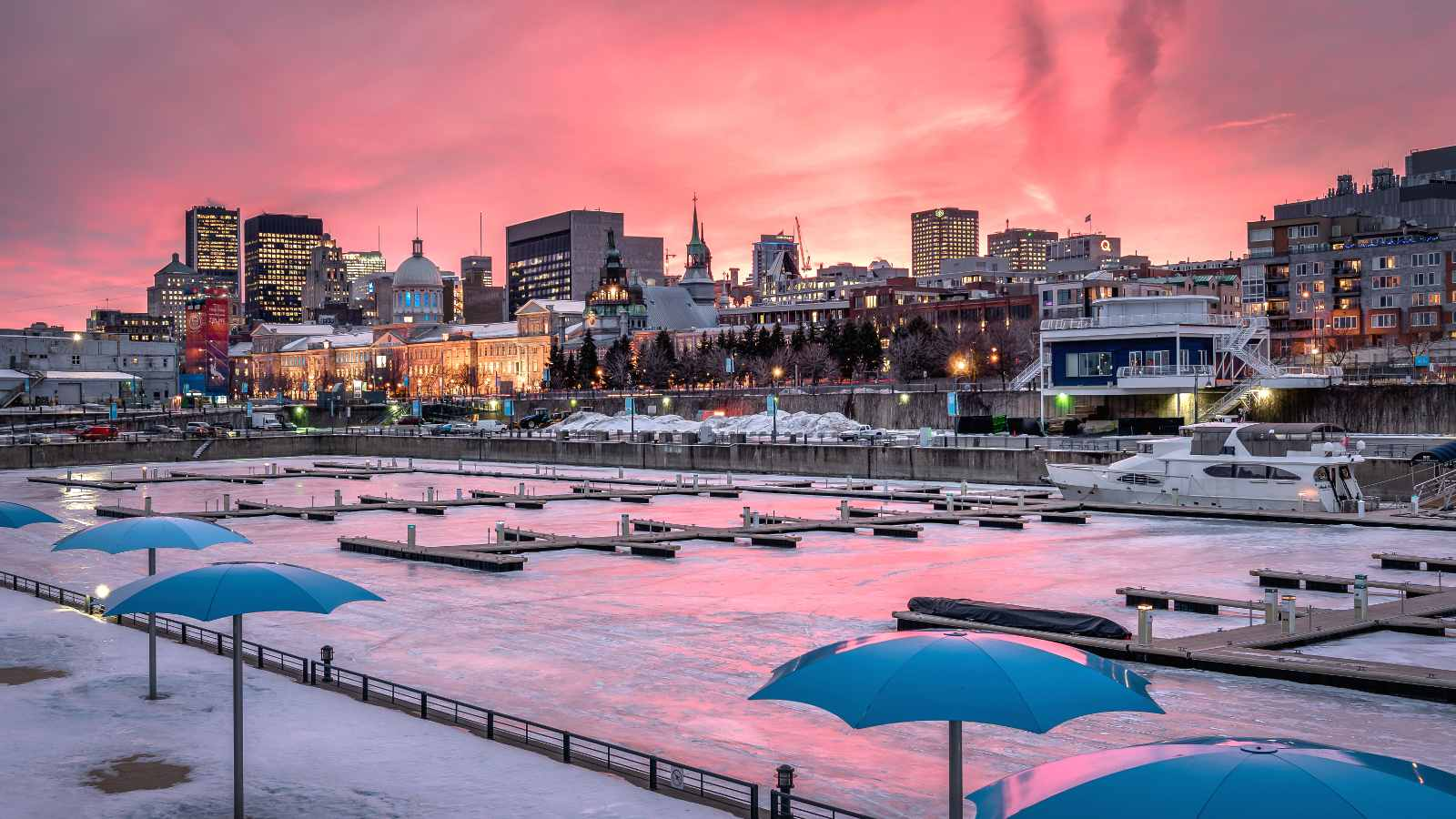 Montreal January events, attractions, and weather.