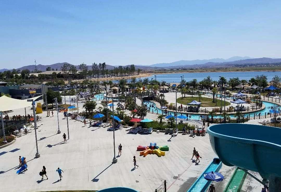 DropZone water park in California