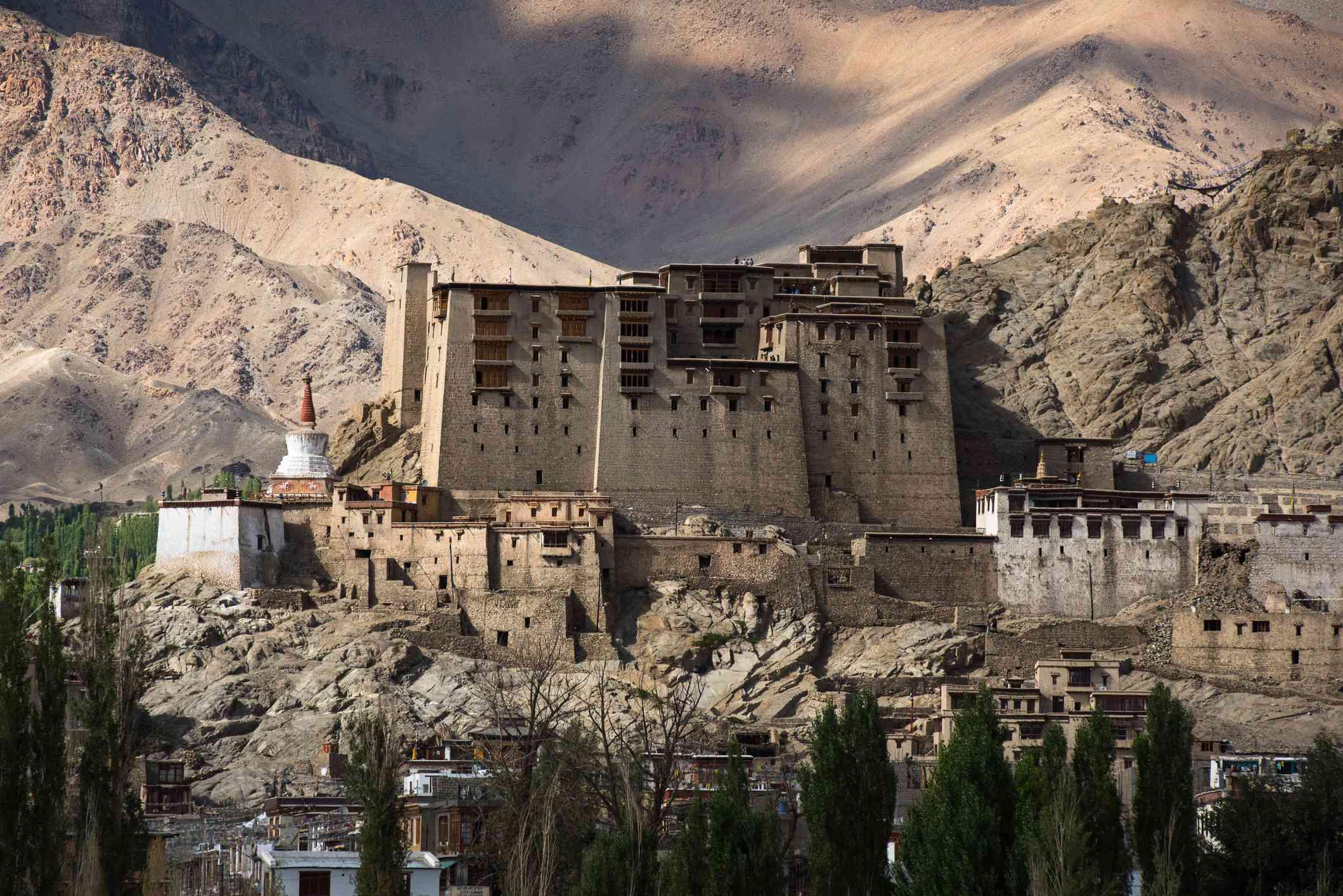 Leh Palace, Ladakh.