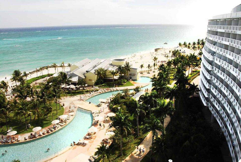 The Westin and Sheraton Our Lucaya Beach and Golf Resort in Freeport on Grand Bahama Island