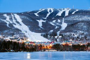 Quebec ski resorts among the best near Montreal? Mont Tremblant is up there.