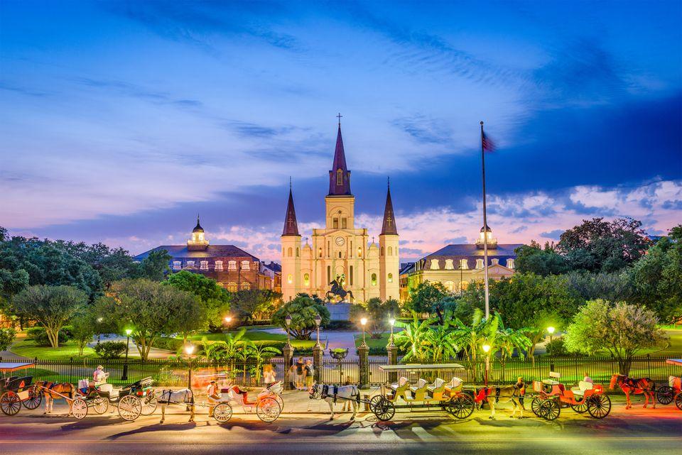 Catedral de San Luis Nueva Orleans