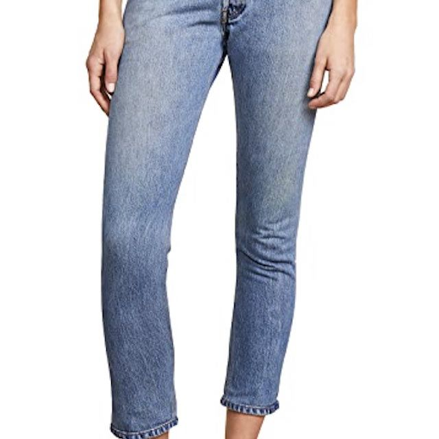 RE / DONE x Levi's High Rise Ankle Crop Jeans
