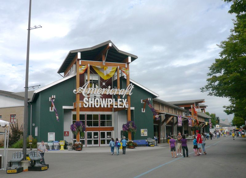 Showplex Building at the Western Washington Fairgrounds in Puyallup