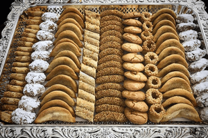 Pastries at Pâtisserie Bennis Habous