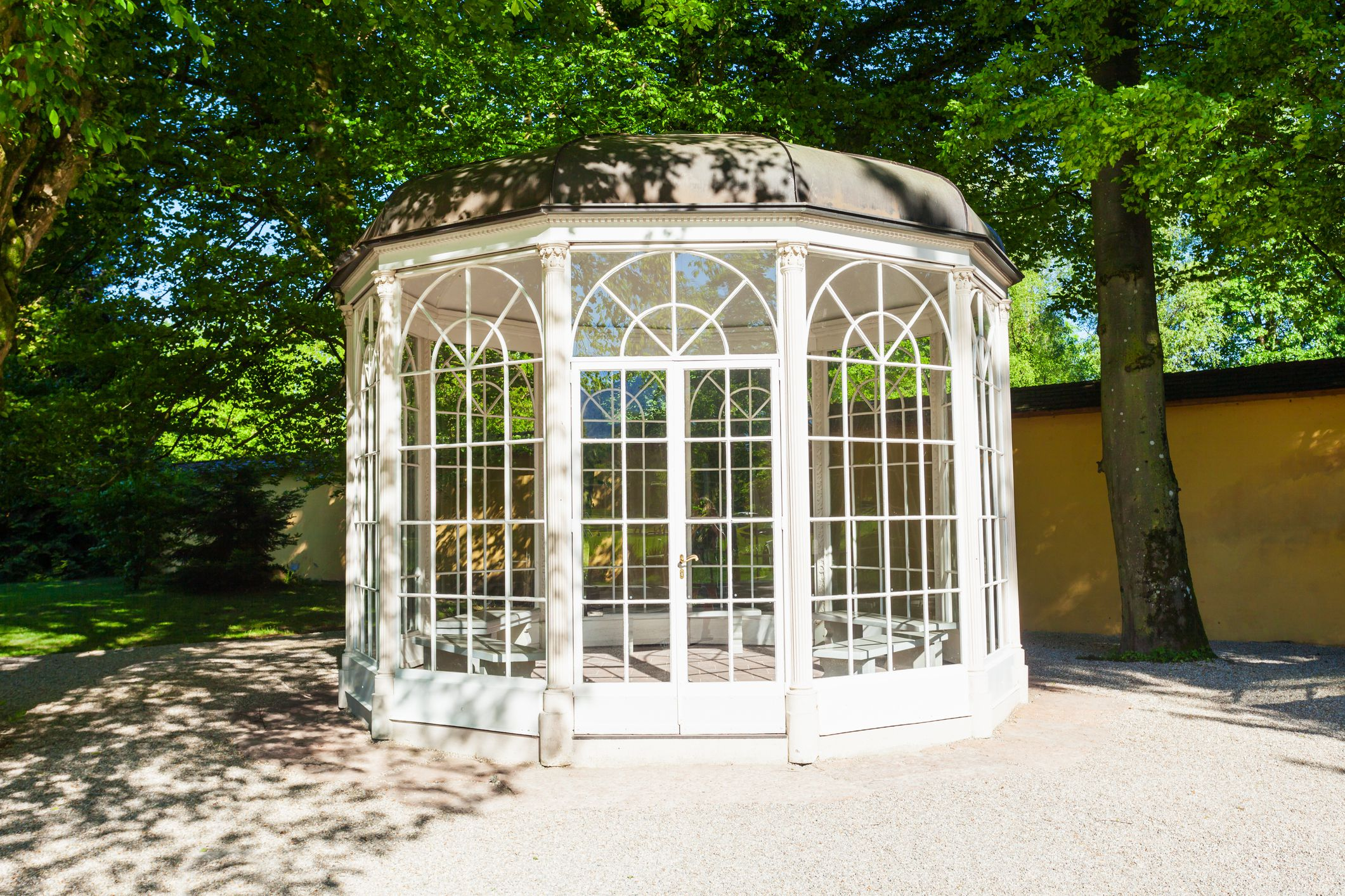 The Sound of Music Pavilion near the Hellbrunn Palace