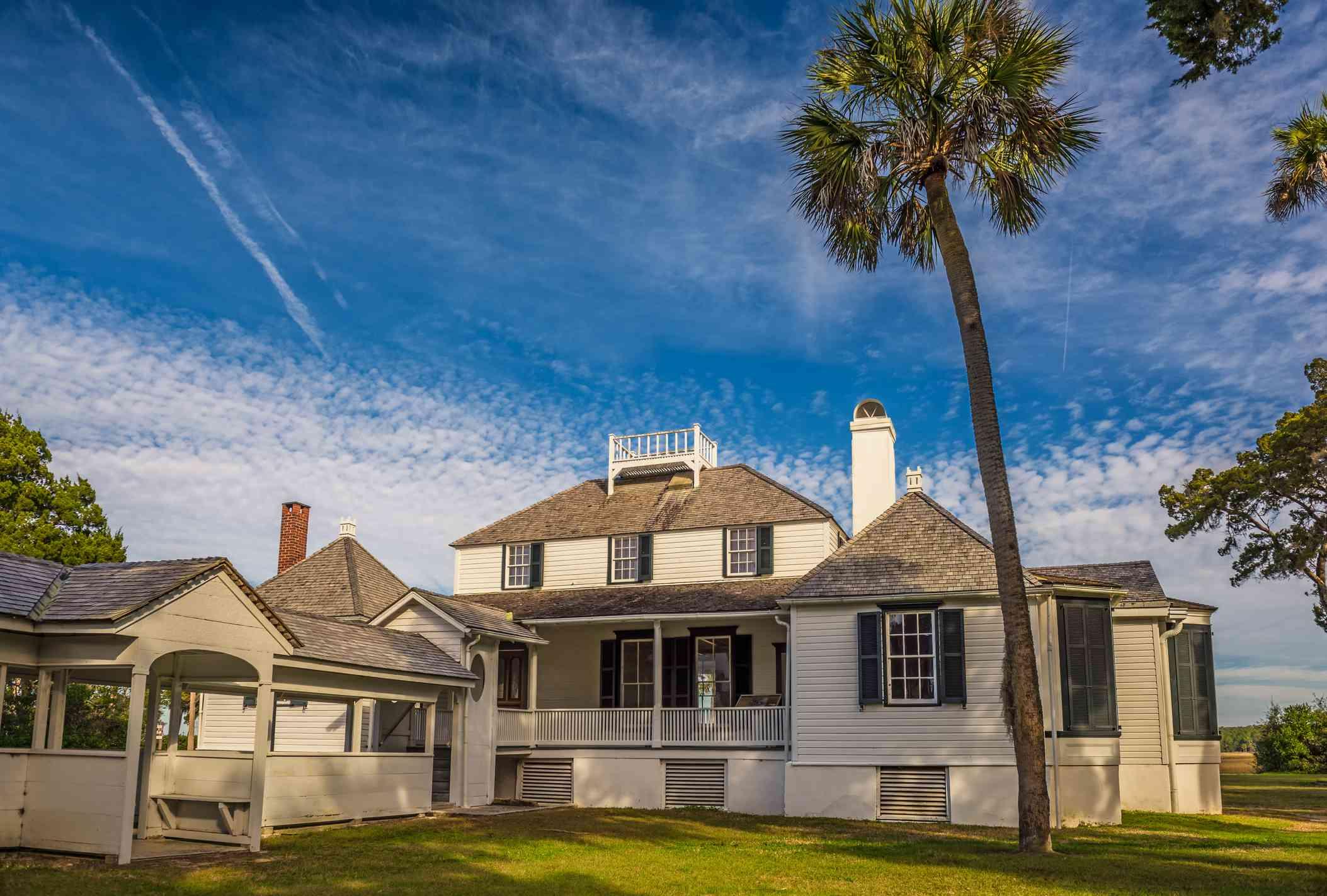 Kingsley Plantation in Jacksonville, Florida