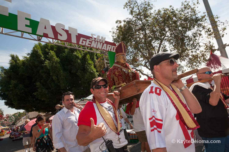 Feast of San Gennaro LA Procession