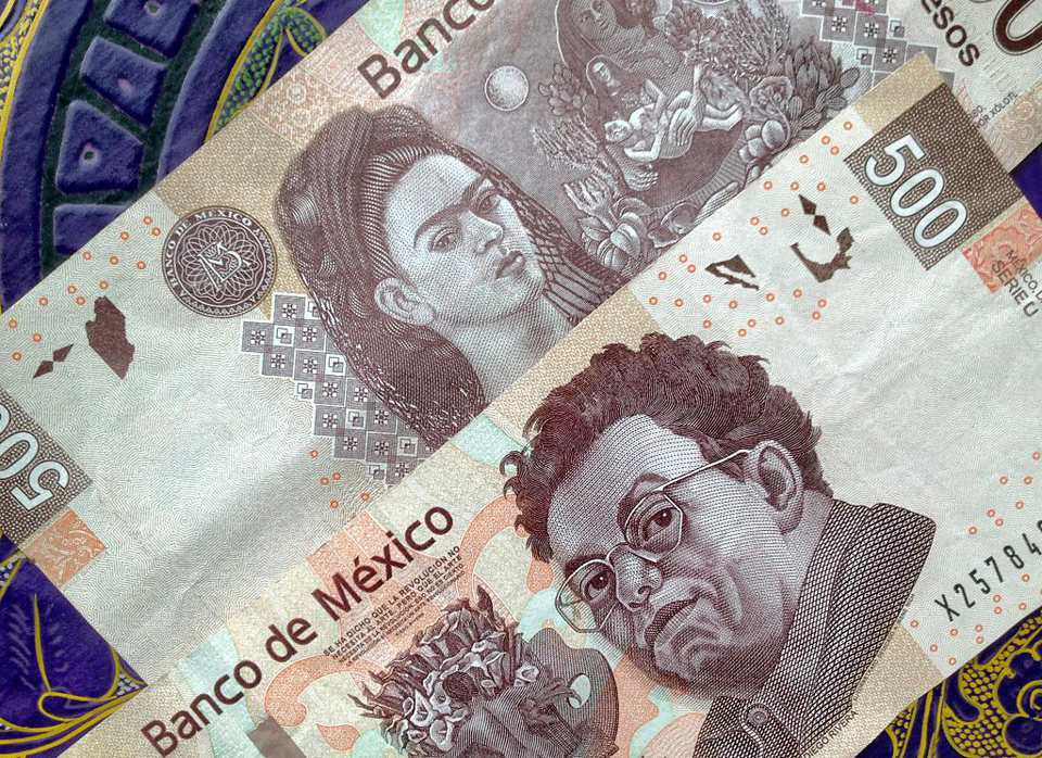 Mexican 500 Peso Note