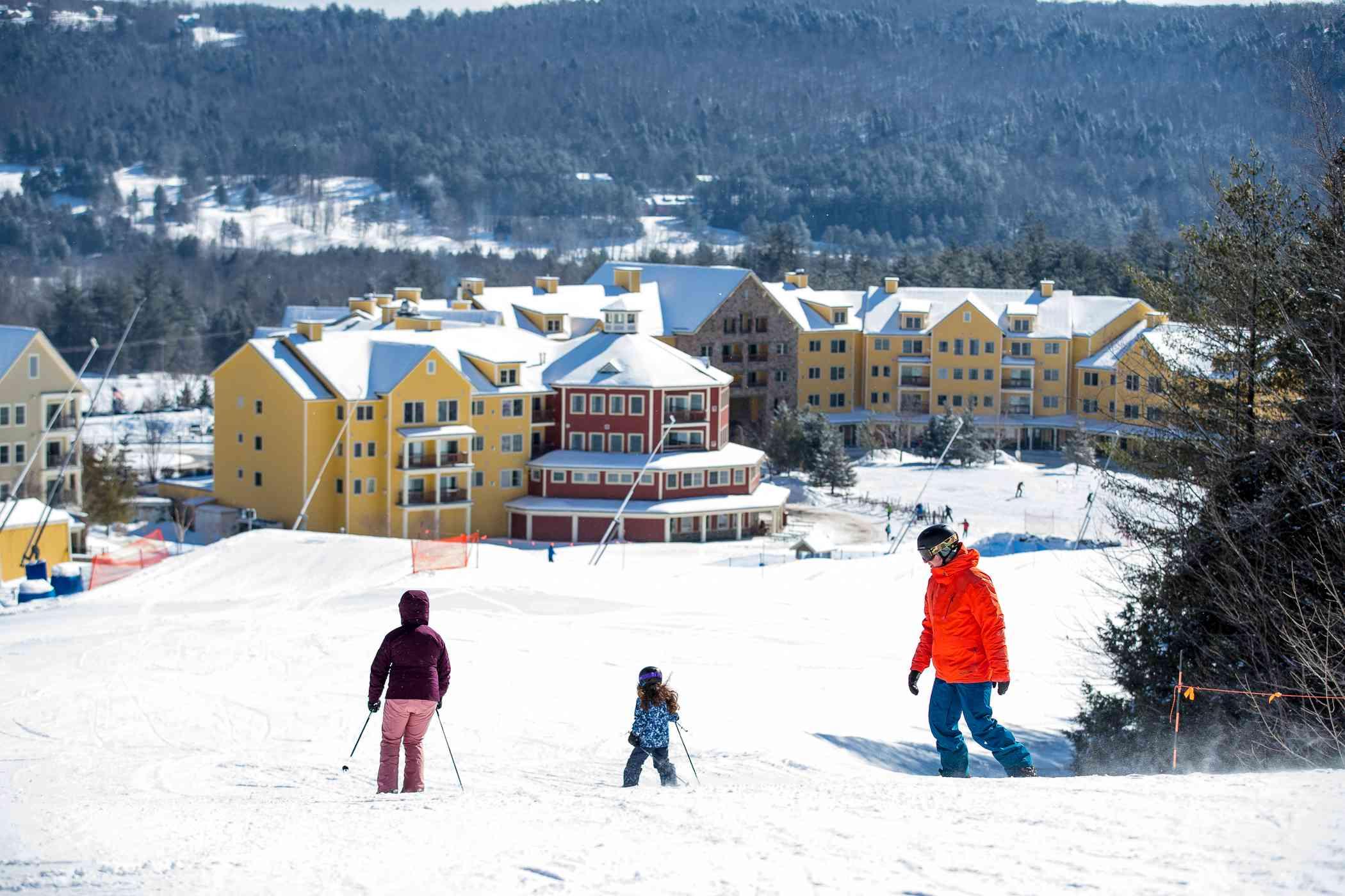 Okemo Mountain a Vail Resorts Ski Area in Vermont