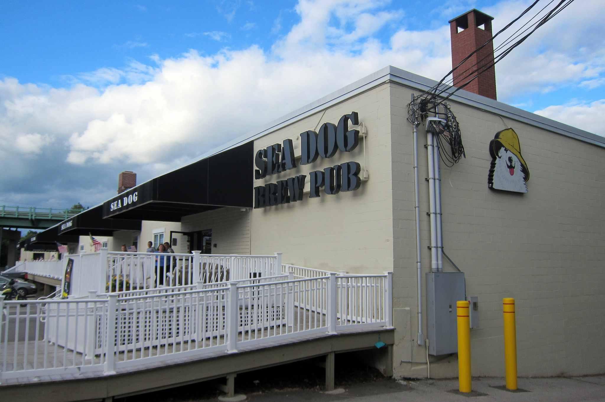 Sea Dog Brewpub in Bangor, Maine