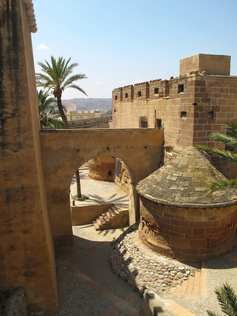 Castillo Del Marques De Los Velez in Almeria