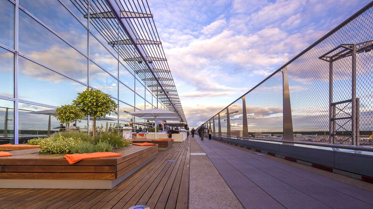 Airports With Amazing Outdoor Spaces