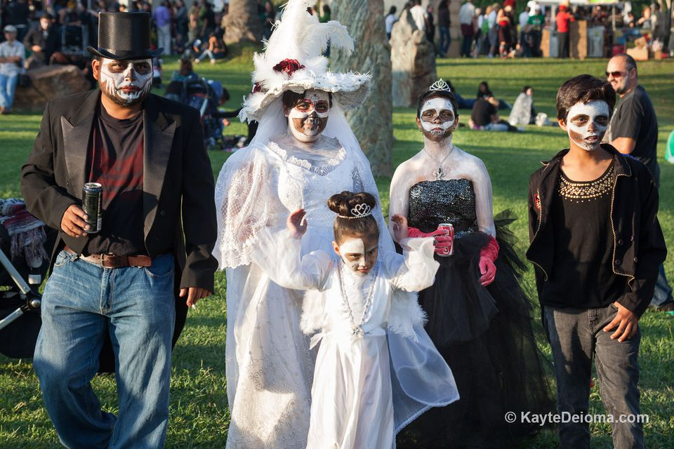 Day of the Dead at Hollywood Forever Cemetery