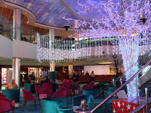 Norwegian Pearl Crystal Atrium