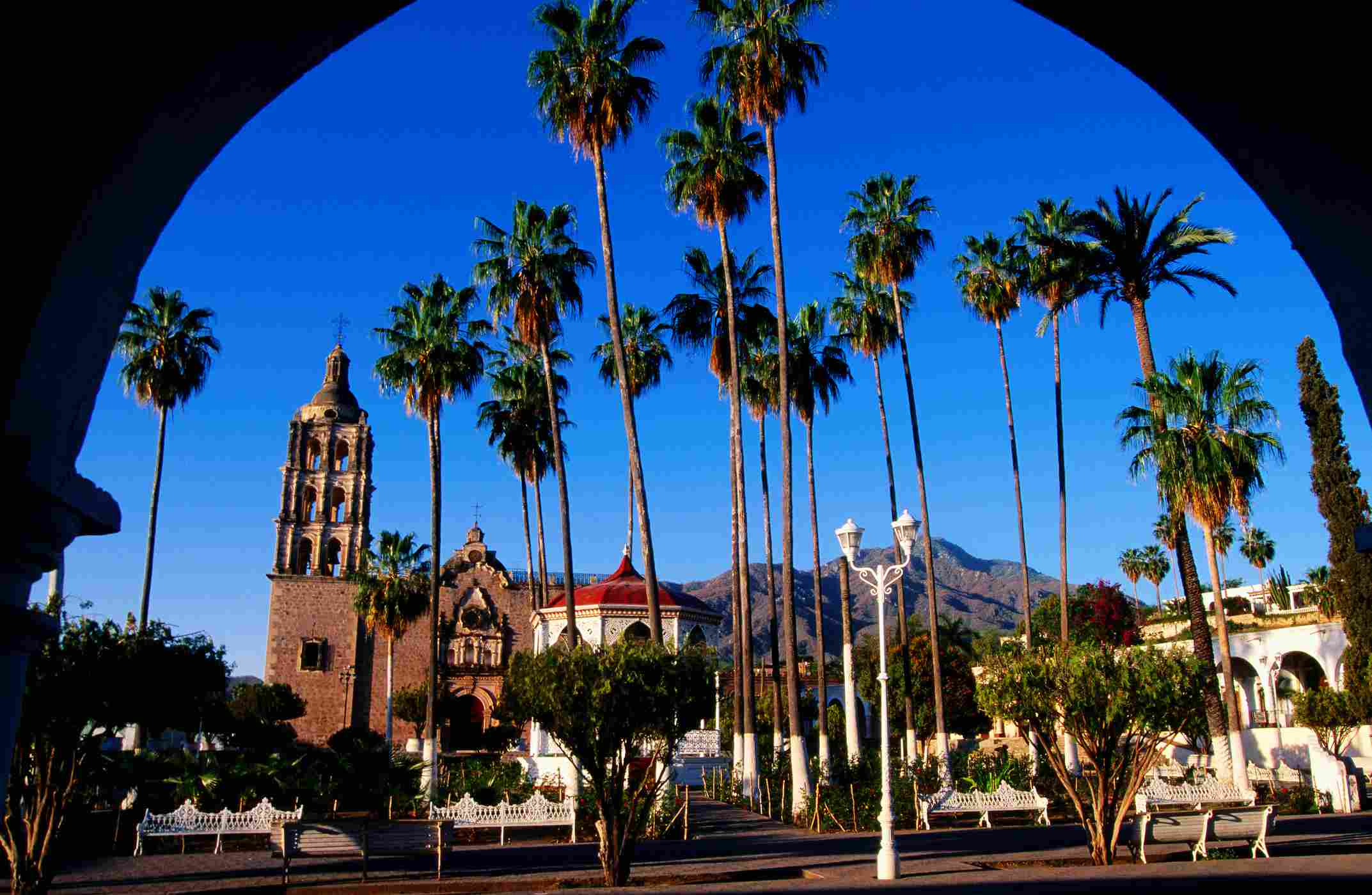 Plaza de Armas, Alamos, Sonora